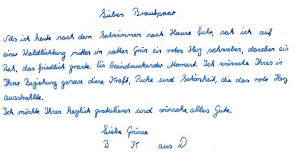 Wunsch-Zettel-Brief