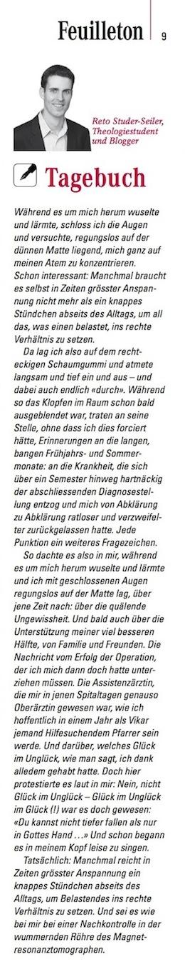 Tagebuch 1 (48/2013)