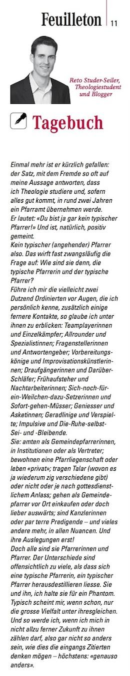 Tagebuch 2 (3/2014)